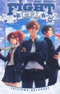 Fight girl T10, manga chez Delcourt de Tsubaki