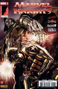 Marvel Knights T6 : Gare aux dormeurs... (0), comics chez Panini Comics de Brubaker, Rucka, Waid, Williams, Gaudiano, Guice, Colak, Lupacchino, Pham, Thies, Rivera, Garbett, Hollingsworth, Breitweiser, Rodriguez, Bellaire, Schwager, Bermejo