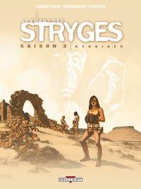Le chant des stryges – cycle 3, T15 : Hybrides (0), bd chez Delcourt de Corbeyran, Guerineau, Fogolin