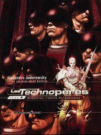 Les technopères T4 : Halkattraz, l'étoile des bourreaux (0), bd chez Les Humanoïdes Associés de Jodorowsky, Janjetov, Beltran