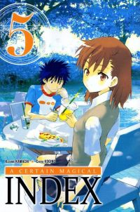 A certain magical index T5, manga chez Ki-oon de Kamachi, Kogino