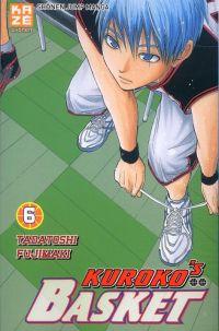 Kuroko's basket T6, manga chez Kazé manga de  Fujimaki