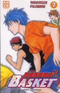 Kuroko's basket T7, manga chez Kazé manga de  Fujimaki