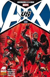 Avengers vs X-Men T4, comics chez Panini Comics de Fraction, Bendis, Coipel, Kubert, Martin, Molinar, Cheung