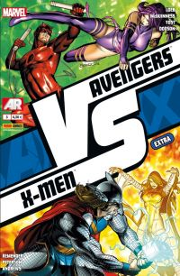 Avengers vs X-Men – Extra, T3 : VS (2/3) (0), comics chez Panini Comics de Yost, Loeb, Remender, Andrews, Dodson, Peterson, McGuinness, Hollowell, Guru efx