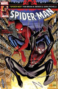 Spider-Man (revue) T1 : Spider-Men (0), comics chez Panini Comics de Bendis, Pichelli, Ponsor