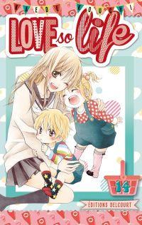 Love so life T14, manga chez Delcourt de Kouchi
