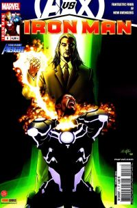 Iron Man (revue) T8 : Inertie (0), comics chez Panini Comics de Bendis, Hickman, Fraction, Deodato Jr, Camuncoli, Larroca, Hernandez Walta, Mounts, Peter, Beredo, d' Armata