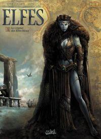 Elfes – cycle Les elfes bleus, T1 : Le Crystal des elfes bleus (0), bd chez Soleil de Istin, Duarte, Studio Impacto