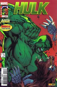 Hulk – Revue V 2, T8 : Entretenir la rage (0), comics chez Panini Comics de Aaron, Parker, Remender, Scalera, Raney, Shalvey, Pagulayan, Wilson, Staples, Martin jr, Davis
