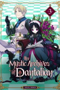 The mystic archives of Dantalian T3, manga chez Soleil de Mikumo, Yusuke (Green Wood), Abeno