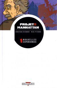 Projets Manhattan T1 : Nouvelles expériences (0), comics chez Delcourt de Hickman, Pitarra, Bellaire