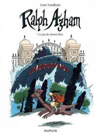 Ralph Azham – cycle 2, T5 : Le pays des démons bleus (0), bd chez Dupuis de Trondheim, Findakly