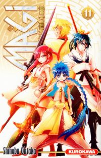 Magi, the labyrinth of magic  T11, manga chez Kurokawa de Ohtaka