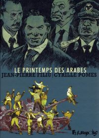 Le Printemps des arabes, bd chez Futuropolis de Filiu, Pomès