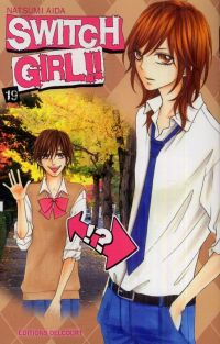 Switch girl  T19, manga chez Delcourt de Aida