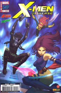 X-Men Universe T9 : Survie (0), comics chez Panini Comics de Wood, Remender, Liu, Lopez, Boschi, Tedesco, Williams, Perkins, Brown, Charalampidis, Ramos, White, Molina