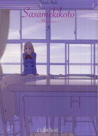 Sasamekikoto - Murmures T5, manga chez Clair de Lune de Ikeda