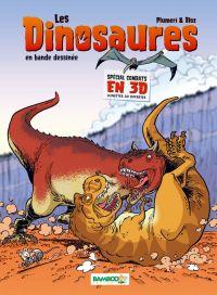 Les dinosaures : Spécial combats en 3D (0), bd chez Bamboo de Plumeri, Bloz, Cosson