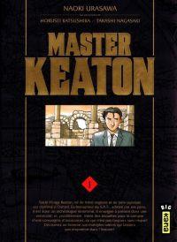 Master Keaton T1, manga chez Kana de Ktsushika, Nagasaki, Urasawa