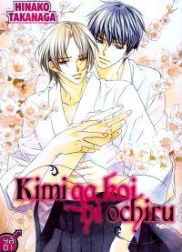 Kimi ga koi ni ochiru, manga chez Taïfu comics de Takanaga