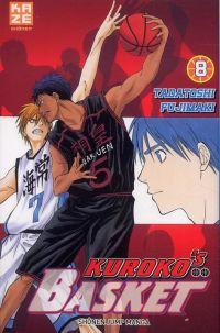 Kuroko's basket T8, manga chez Kazé manga de  Fujimaki