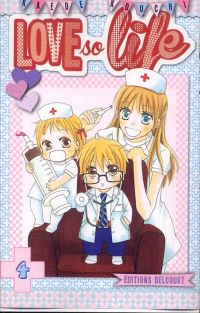 Love so life T4, manga chez Delcourt de Kouchi