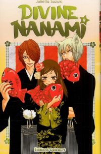 Divine Nanami T9, manga chez Delcourt de Suzuki
