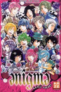 Enigma T7 : , manga chez Kazé manga de Sakaki