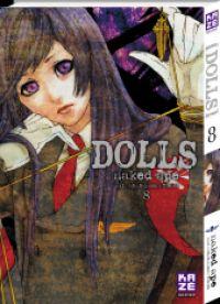 Dolls T8, manga chez Kazé manga de Naked ape, Lira Kotone, Otoh, Nakamura
