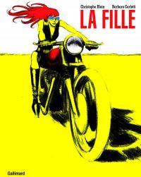 La  Fille, bd chez Gallimard de  Carlotti, Blain