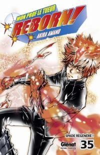 Reborn ! Mon prof le tueur T35 : Spade régénéré ! (0), manga chez Glénat de Amano
