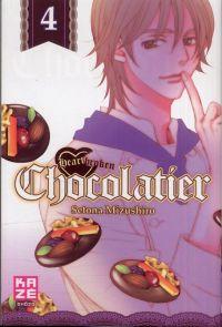 Heartbroken chocolatier T4, manga chez Kazé manga de Mizushiro