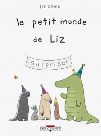 Le Petit monde de Liz : , comics chez Delcourt de Climo