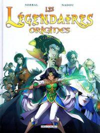 Les Légendaires - Origines T2 : Jadina, bd chez Delcourt de Sobral, Nadou