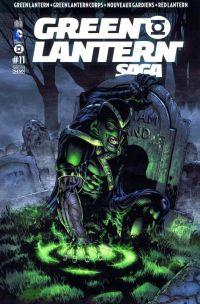 Green Lantern Saga T11, comics chez Urban Comics de Johns, Milligan, Tomasi, Bedard, Sepulveda, Kirkham, Mahnke, Pasarin, Eltaeb, Beredo, Ruffino, Aviña