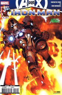 Iron Man (revue) T10 : Le dieu vaisseau (0), comics chez Panini Comics de Hickman, Fraction, Bendis, Larroca, Stegman, Dragotta, Deodato Jr, Peter, d' Armata, Beredo, Mounts