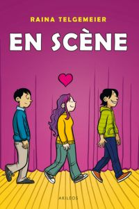 En scène !, comics chez Akileos de Telgemeier
