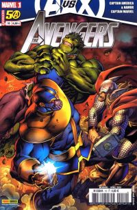 The Avengers (revue) T10 : La boîte de Pandore (0), comics chez Panini Comics de Deconnick, Bendis, Bunn, Brubaker, Simonson, Bagley, Conrad, Soy, Eaton, Peter, Mounts, Guru efx, Keith, Quintana
