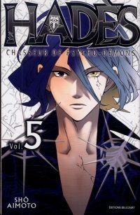 Hadès chasseur de psycho-démons T5, manga chez Delcourt de Aimoto