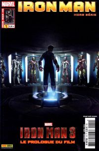 Iron Man (revue) T1 : Iron Man 3 : prélude (0), comics chez Panini Comics de Gage, Pilgrim, Theroux, Rosanas, Kurth, SotoColor, Sotomayor