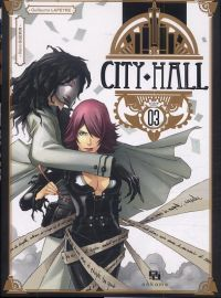 City Hall T3, manga chez Ankama de Guérin, Lapeyre