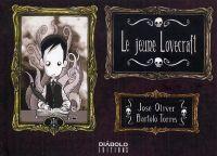 Le Jeune Lovecraft, bd chez Diabolo éditions de Oliver, Torres