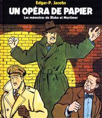 Un Opéra de papier, bd chez Gallimard de Jacobs