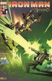 Iron Man (revue) T11 : La fin des temps (0), comics chez Panini Comics de Hickman, Bendis, Fraction, Gaydos, Pacheco, Araujo, Larroca, Stegman, d' Armata, Mounts, Beredo, Peter