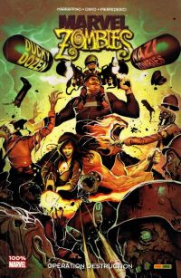 Marvel Zombies T9 : Opération destruction (0), comics chez Panini Comics de Van Lente, David, Marraffino, Barrionuevo, Pierfederici, Vitti, Beaulieu, Henderson, Del Mundo, Francavilla
