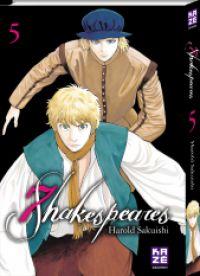 7 Shakespeares T5, manga chez Kazé manga de Sakuishi