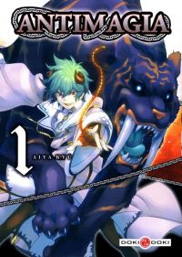 Antimagia T1, manga chez Bamboo de Kyu