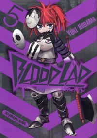 Blood lad T5, manga chez Kurokawa de Kodama