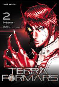 Terra Formars T2, manga chez Kazé manga de Sasuga, Tachibana